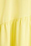 Mango Kadın Sarı Elbise 51050756