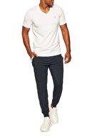 Armani Exchange Erkek Beyaz Pamuklu V Yaka Regular Fit T Shirt S 8nzt85 Z8m9z 2181