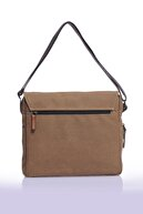 Sword Bag Bej Kanvas Laptop Evrak Çantası Sw700