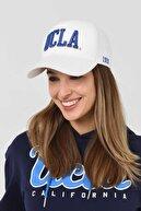 Ucla Ranch Beyaz Baseball Cap Nakışlı Şapka