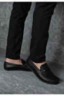 Wadork Erkek Siyah Loafer Casual Ayakkabı