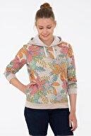 US Polo Assn Bej Kadın Sweatshirt