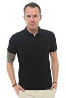 Cazador Erkek Siyah Polo Yaka T-shirt 4613