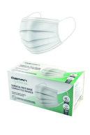 Özman Medical Üç Katlı Telli Beyaz Cerrahi Maske 50 Adet