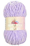 Himalaya Lila Velvet Kadife Ip 90005