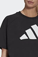 adidas Kadın Siyah W St Logo Tee T-Shirt