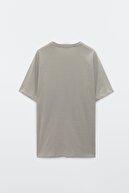 Massimo Dutti Erkek Pamuklu Kısa Kollu Çizgili T-Shirt 01416288