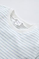 Defacto Unisex Çizgili Pamuklu 2'li Kısa Kollu Tişört