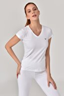 bilcee Beyaz Kadın T-Shirt GS-8087