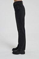 CROSS JEANS Dıana Siyah Renk Yüksel Bel Dad Straight Fit Pantolon C 4517-007