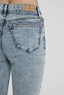CROSS JEANS Judy Asit Yıkamalı Yüksek Bel Skinny Fit Jean Pantolon C 4521-010