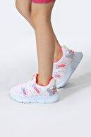 Pukka Collection Kız Çocuk Beyaz Bağcıksız Spor Ayakkabı