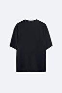 LazyMood Kyrie Irving 98 Siyah Hg Erkek Oversize Tshirt - Tişört