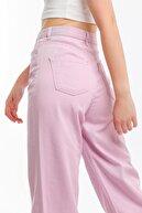 FAF Denim Moda Yüksek Bel Regular Fit Mom Jean Wide Leg Bol Paça Kot Pantolon Wıdeleg-2414