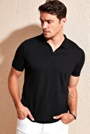 Buratti Düğmeli Polo Yaka T Shirt Erkek Polo 4362053