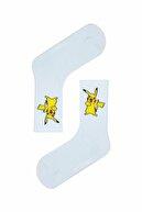 MVS NEWAGE 5'li Pokemon Karakterleri Desenli Renkli Çorap Seti