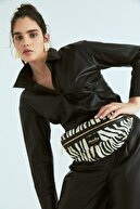 BloominBag Stripy Tricky Zebra Desenli Bel Çantası