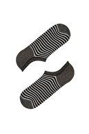 Penti Siyah Gri Multi Erkek Colorful Lıne 3lü Patik Çorap