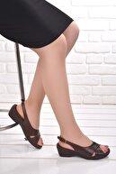 Ceyo Kadın Günlük Anatomik Sandalet Terlik 9922