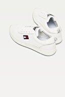 Tommy Hilfiger Erkek Beyaz Sneaker Tommy Jeans Flexı Runner EM0EM00490