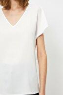 Koton Kadın Ekru Bluz