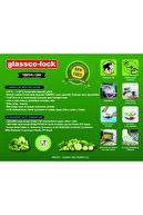 Glassco -lock Temperli Kilitli Saklama Kabı Yuvarlak 670 Cc