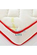 arvenlive Unisex Beyaz Ortopedik Natural Çocuk Yatağı 60x120 cm