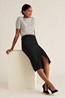 Marks & Spencer Kadın Siyah Midi Kalem Etek T59008102