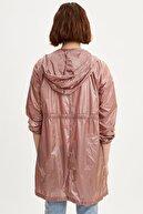 Defacto Kadın Bej Kapüşonlu Yağmurluk L1666AZ19SP