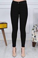 Gül Moda Kadın Siyah Dar Paça Jeans