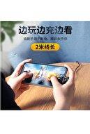 Magnetech 3a Dirsek Iphone Oyuncu Hızlı Şarj Kablosu Gaming Cable L Kablo 90 Derece