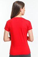 Slazenger Move Kadın T-shirt Kırmızı