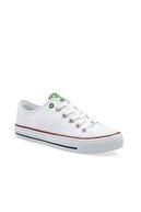 Benetton Kadın Beyaz Spor Ayakkabı Bn-30196