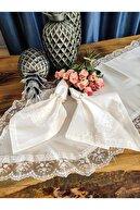 Çt Çeyizci Tekstil Pitikare Masa Örtüsü Takımı 12 Kişilik 26 Parça