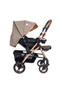 4 Baby Active + Plus Gold Çift Yönlü Bebek Arabası