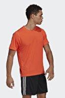 adidas Erkek Turuncu Kısa Kollu T-shirt