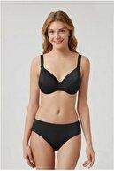 Kom Elen Düz Renk Kapsız Telli Toparlayıcı Bikini