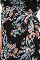 TRENDYOLMİLLA Siyah Çiçek Desenli Elbise TWOSS19EL0107