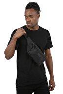 Bagslab Siyah Cepli Bel Çantası/bodybag(YAN ASILARAK KULLANIMA UYGUN)