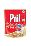 Pril Gold 90 Yıkama Bulaşık Makinesi Deterjanı Tableti(2x45'li Paket)+ 56'lı Antibak. Islak Mendil Hediye