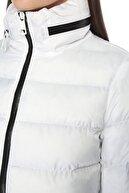 Network Kadın Beyaz Beyaz Dik Yakalı Mont 1076336