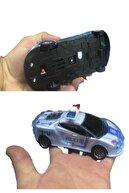 Hyd Kırılmaz Korumalı Sesli Işıklı Çek Bırak Sürtmeli Oyuncak Polis Arabası