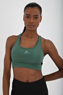 Tommy Life Kadın Çapraz Sırt Detaylı Slim Fit U Yaka Spor Büstiyer