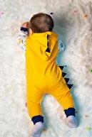 Miniworld Unisex Yellow Zoo Bebek Tulumu
