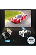 taviss Yeni Cheerlux C9 Smart TV, netflix,youtube,android, Ois,WİFİ&,Full HD Projeksiyon Cihazı