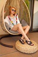 StWenn Kadın Deniz Havuz Plaj Terliği Deniz Ayakkabısı