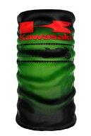 e-Taktik Collar Kawasaki Motocycle Buff Boyunluk Bandana Balaklava