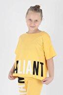 Ahenk Kids Kız Çocuk Vaillant Baskılı Taytlı Takım