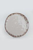 Keramika Brown Organik Servis Tabağı 26 Cm 6 Adet