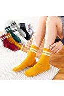 Bolero 6'lı Unisex Çemberli Kolej Çorabı